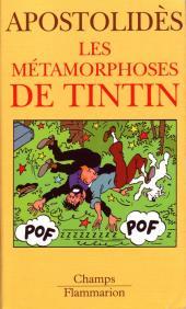 Tintin - Divers -b- Les Métamorphoses de Tintin