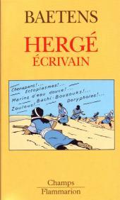 (AUT) Hergé -66a- Hergé écrivain