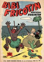 Bibi Fricotin (2e Série - SPE) (Après-Guerre) -23- Bibi Fricotin nouveau Robinson
