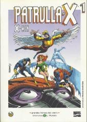 Grandes héroes del cómic -8- Patrulla-x 1