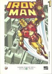 Grandes héroes del cómic -17- Iron man 1