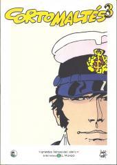 Grandes héroes del cómic -22- Corto maltés 3