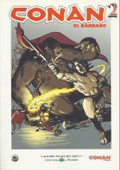 Grandes héroes del cómic -24- Conan el bárbaro 2