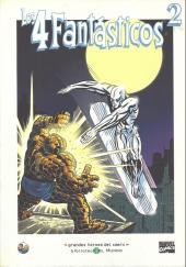 Grandes héroes del cómic -36- Los 4 fantásticos 2