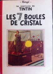 Tintin (Historique) -13TL1- Les 7 boules de cristal