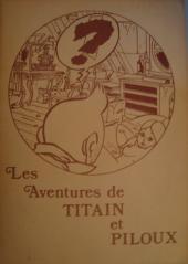Tintin - Pastiches, parodies & pirates - Les Aventures de Titain et Piloux