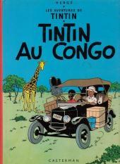 Tintin (Historique) -2C5- Tintin au Congo