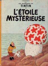 Tintin (Historique) -10B38- L'étoile mystérieuse