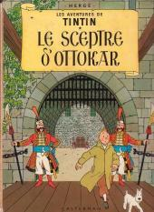 Tintin (Historique) -8B39- Le sceptre d'Ottokar