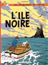 Tintin (Historique) -7B39- L'île noire