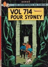 Tintin (Historique) -22B38- Vol 714 pour Sydney