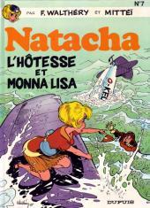 Natacha -7a1989- L'hôtesse et Monna Lisa