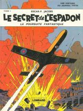 Blake et Mortimer (Historique) -1b77- Le Secret de l'Espadon - Tome I - La Poursuite fantastique