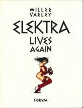Elektra (en espagnol) - Elektra lives again