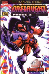 Marvel Méga -4- Onslaught Phase 2 - Sur les traces d'Onslaught