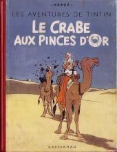 Tintin (Historique) -9B02a- Le crabe aux pinces d'or