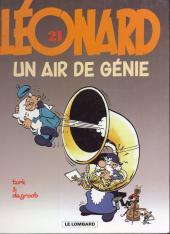 Léonard -21b2003- Un air de génie