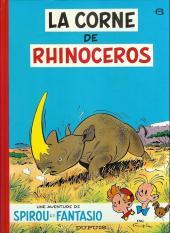 Spirou et Fantasio -6d83- La corne de rhinocéros