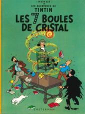 Tintin (Historique) -13C4bis- Les 7 boules de cristal