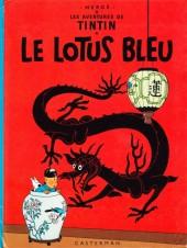 Tintin (Historique) -5C3ter- Le Lotus Bleu