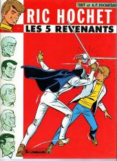 Ric Hochet -10a81- Les 5 revenants