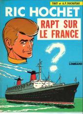 Ric Hochet -6a74- Rapt sur le france
