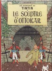 Tintin (Historique) -8B12 bi- Le sceptre d'Ottokar