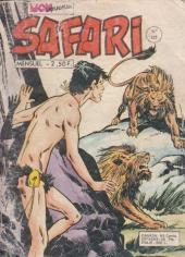 Safari (Mon Journal) -122- Dans les griffes du lion noir
