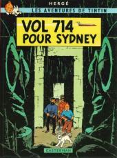 Tintin (Historique) -22C4- Vol 714 pour Sydney