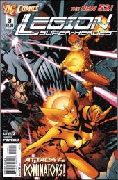 Legion of Super-Heroes (2011) -3- Shadow war