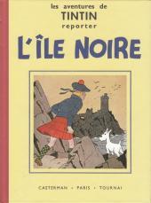 Tintin (Fac-similé N&B) -7PF- L'île noire