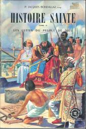 Belles histoires et belles vies -12- Histoire sainte - Tome II : Les Luttes du peuple de Dieu