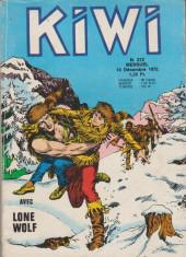 Kiwi -212- La marque de l'infamie