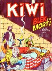 Kiwi -262- Blek est mort !