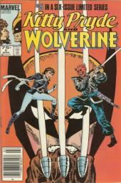 Kitty Pryde and Wolverine (1984) -5- Courage