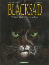 Blacksad -1b- Quelque part entre les ombres