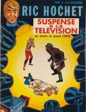 Ric Hochet -7'- Suspense à la télévision