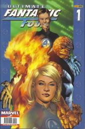Couverture de Ultimate Fantastic Four -1- Lo fantástico (parte 1 y 2)