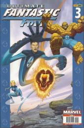 Couverture de Ultimate Fantastic Four -3- Lo fantástico (parte 5 y 6)