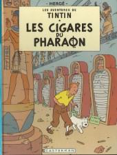 Tintin (Historique) -4C1- Les cigares du pharaon