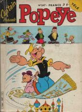 Popeye (Cap'tain présente) -247- Les pirates de la Mer Jaune