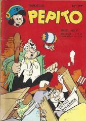 Pepito (1re Série - SAGE) -77- Le navire volant