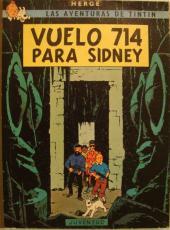 Tintín (Las Aventuras de) -22- Vuelo 714 para Sídney