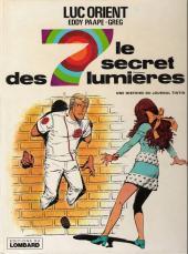 Luc Orient -6a- Le secret des 7 lumières