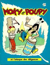 Moky et Poupy -27- Moky et Poupy et l'attaque des diligences
