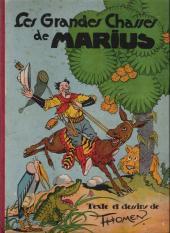 Marius -2- Les Grandes Chasses de Marius