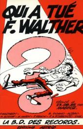 Qui a tué F. Walther ? - La B.D. des records.
