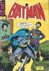 Batman Géant (Sagédition - 3e série) -2- La fureur de Batman
