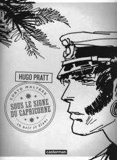 Corto Maltese (2011 - En noir et blanc) -3- Sous le signe du Capricorne