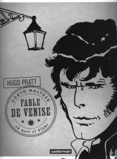 Corto Maltese (2011 - En noir et blanc) -8- Fable De Venise
